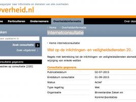 internetconsulatie-wiv